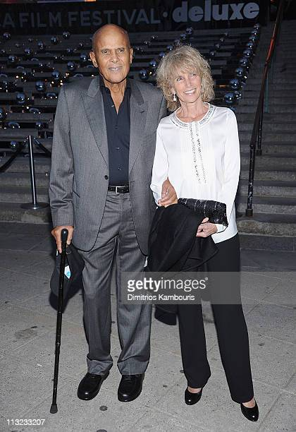 Harry Belafonte and Pamela Belafonte attend the Vanity Fair party during the 10th annual Tribeca Film Festival at State Supreme Courthouse on April...