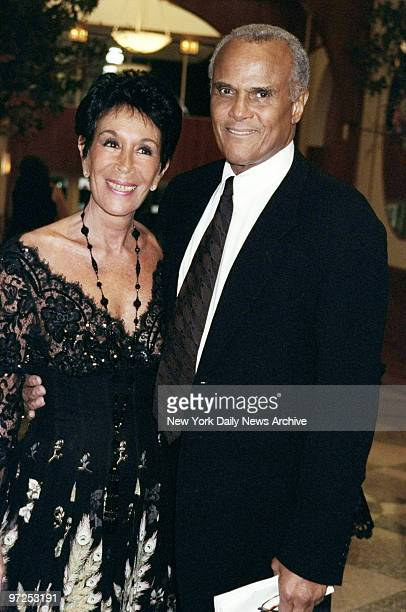 Harry Belafonte and wife Julie are on hand at the Amnesty International USA Media Spotlight Awards presentations at Pier 60