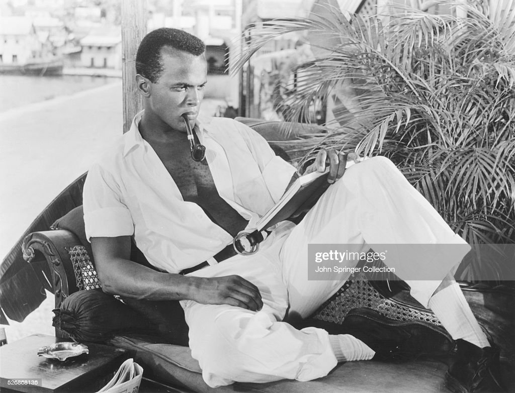 Harry Belafonte As David Boyeur In The 1957 Film Island In