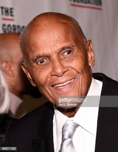 Harry Belafonte attends the 2017 Gordon Parks Foundation Awards Gala at Cipriani 42nd Street on June 6 2017 in New York City