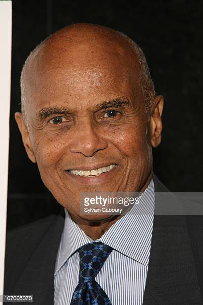 Harry Belafonte during Harvey Weinstein Hosts a Private Screening of Bobby for Senators Obama and Schumer Inside Arrivals at Disney Screeening Room...
