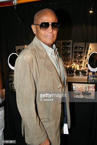 28ce8190635 Harry Belafonte in Gucci GG1827S Sunglasses during Safilo at 60th Annual  Tony Awards On 3 Productions