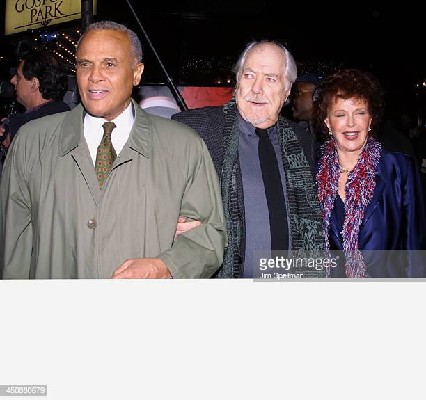 Harry Belafonte Robert Altman his wife Katherine