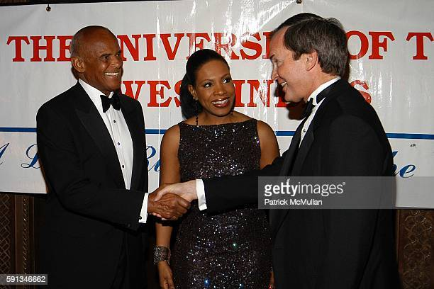 Harry Belafonte Sheryl Lee Ralph and Daniel Petri attend The 2005 University of the West Indies Gala The Legacy Continues at Cipriani 42nd St on...