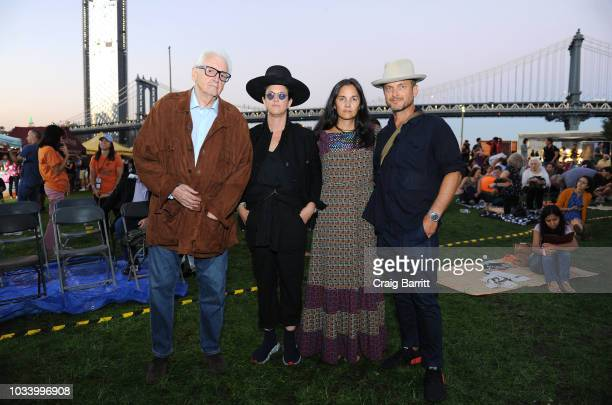 Harry Benson Amanda Demme Jody Quon and Christopher Anderson attend the New York Magazine Jody Quon Celebrate 50 Years on September 15 2018 in New...