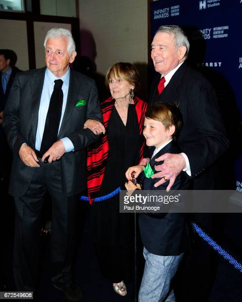 Harry Benson Jean Goebel and Dan Rather attend International Center of Photography 33rd Annual Infinity Awards at Pier Sixty at Chelsea Piers on...