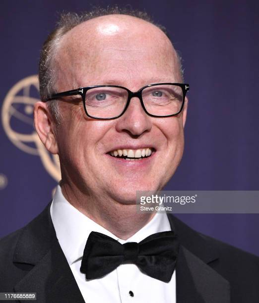 Harry Bradbeer poses at the 71st Emmy Awards at Microsoft Theater on September 22, 2019 in Los Angeles, California.