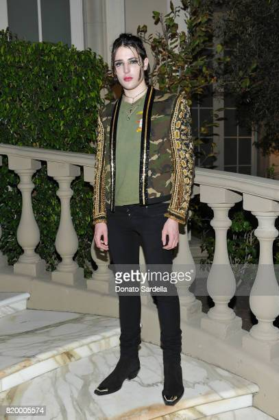 Harry Brant at BALMAIN celebrates first Los Angeles boutique opening and Beats by Dre collaboration on July 20 2017 in Beverly Hills California