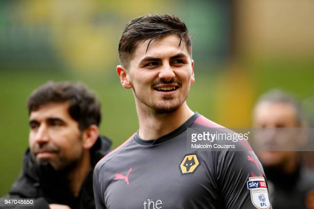 Harry Burgoyne of Wolverhampton Wanderers during the Sky Bet Championship match between Wolverhampton Wanderers and Birmingham City at Molineux on...