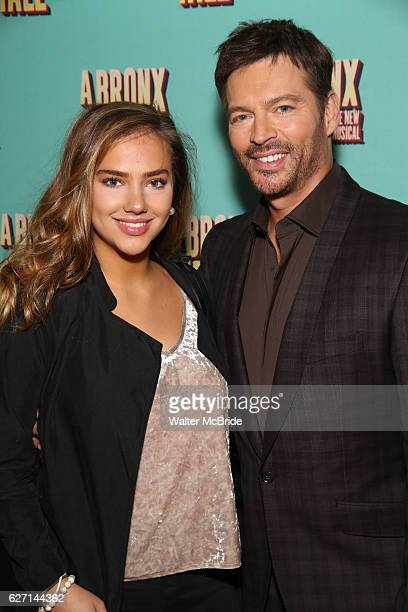 Harry Connick Jr and daughter attend the Broadway Opening Night Perfomance of 'A Bronx Tale' at The Longacre on December 1 2016 in New York City