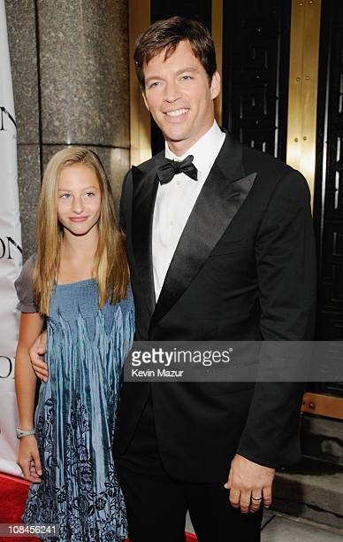 Harry Connick Jr and daughter Georgia attend the 62nd Annual Tony Awards at Radio City Music Hall on June 15 2008 in New York City