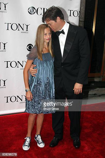 Harry Connick Jr. And daughter Georgia attends the 62nd Annual Tony Awards on June 15, 2008 at Radio City Music Hall in New York City.