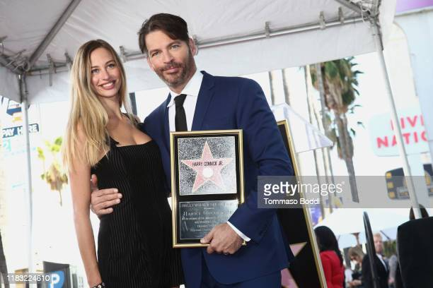 Harry Connick Jr and Georgia Connick attend a Ceremony Honoring Harry Connick Jr With Star On Hollywood Walk Of Fame on October 24 2019 in Hollywood...