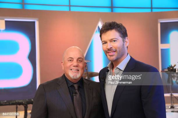 Harry Connick Jr and guest Billy Joel attend the 'Harry' show taping at CBS Television Studios September 7 2017 in New York City 'Harry' premieres...