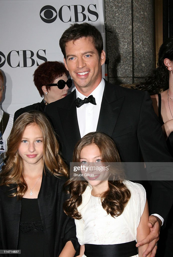 Harry Connick, Jr. (center) and guests during 61st Annual Tony Awards - Arrivals at Radio City Music Hall in New York City, New York, United States.