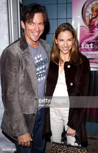 Harry Connick Jr and his wife Jill Goodacre arrive to the New York Screening of Showtimes Fat Actress held at Clearview Chelsea West Cinemas New York...