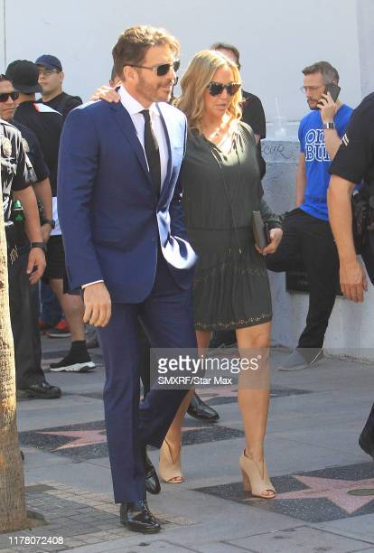 Harry Connick Jr and Jill Goodacre are seen on October 24 2019 in Los Angeles California