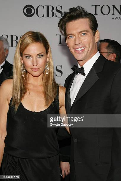 Harry Connick Jr and Jill Goodacre during 60th Annual Tony Awards Arrivals at Radio City Music Hall in New York City New York United States