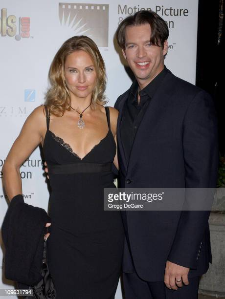 Harry Connick Jr and Jill Goodacre during A Fine Romance Gala Benefiting the Motion Picture Television Fund Arrivals at Sunset Gower Studios in...