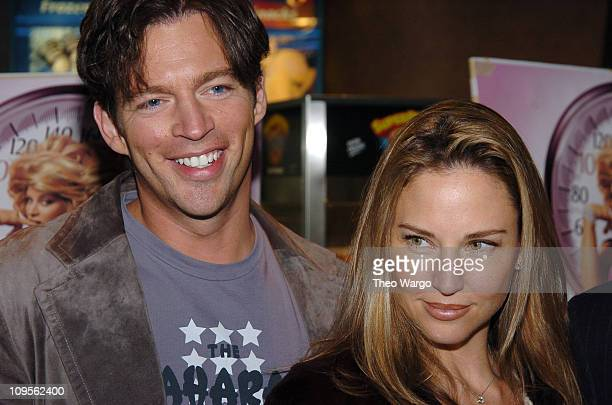 """Harry Connick Jr. And Jill Goodacre during """"Fat Actress"""" Showtime Network's New York City Premiere - Inside Arrivals at Clearview Chelsea West..."""