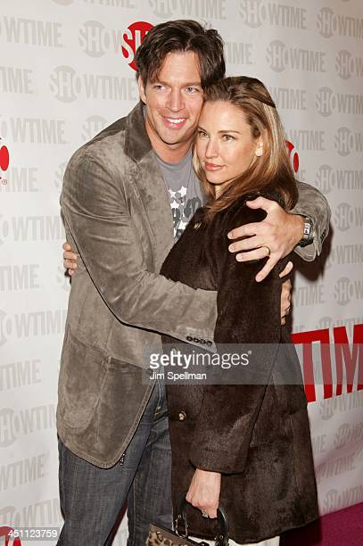 Harry Connick Jr and Jill Goodacre during Fat Actress Showtime Network's New York City Premiere Red Carpet at Clearview Chelsea West Cinemas in New...
