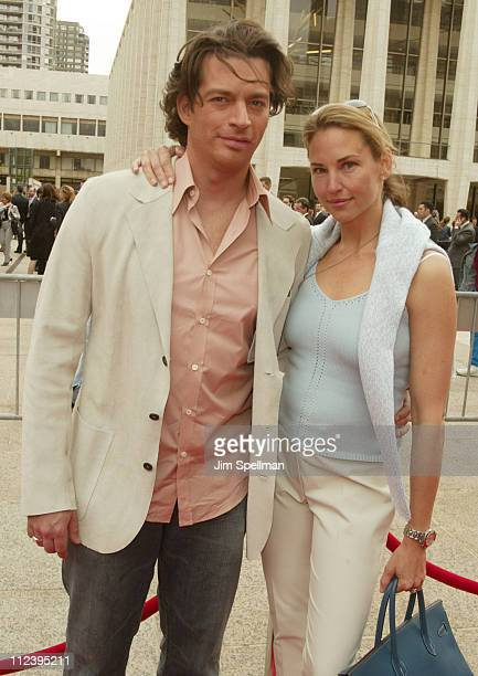 Harry Connick Jr and Jill Goodacre during NBC 20032004 Upfront at The Metropolitan Opera House lincoln Center in New York City New York USA