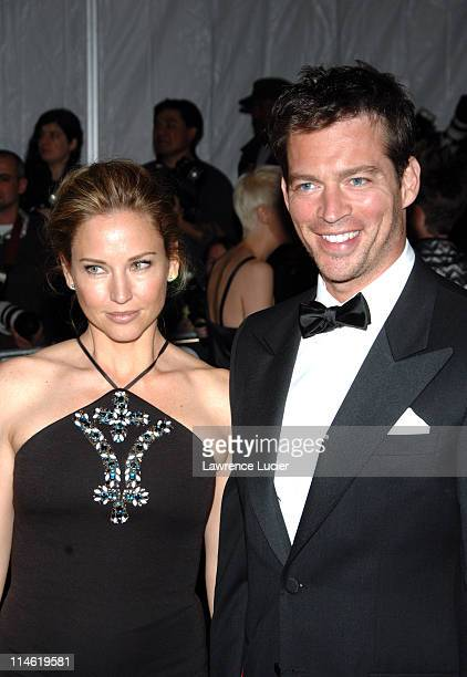 Harry Connick Jr and Jill Goodacre during Poiret King of Fashion Costume Institute Gala at The Metropolitan Museum of Art Arrivals at Metropolitan...