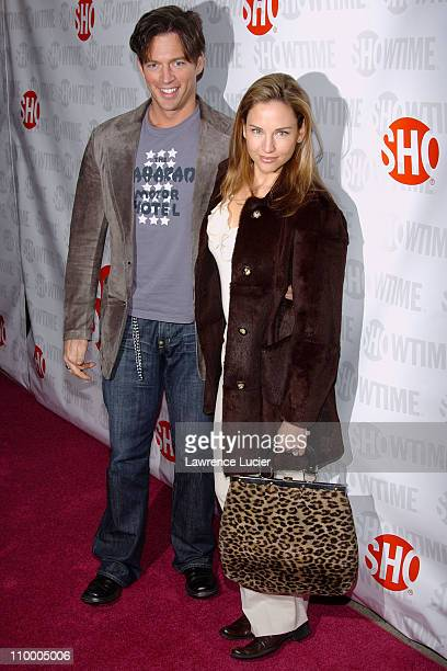 Harry Connick Jr and Jill Goodacre during Showtime's Fat Actress New York City Premiere Arrivals at Clearview Chelsea West in New York City New York...