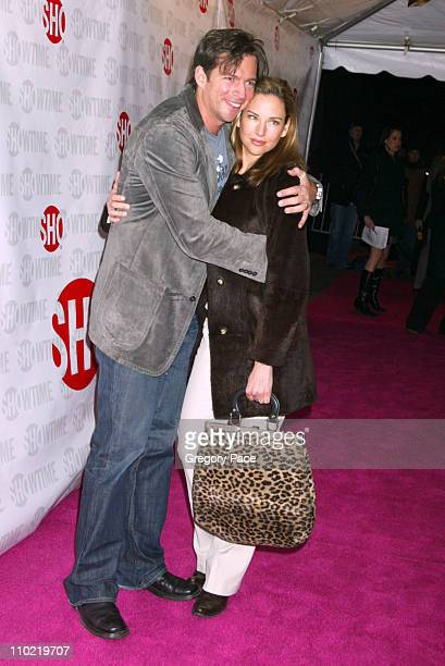 Harry Connick Jr and Jill Goodacre during Showtime's Fat Actress New York City Premiere Inside and Red Carpet Arrivals at Clearview Chelsea West in...