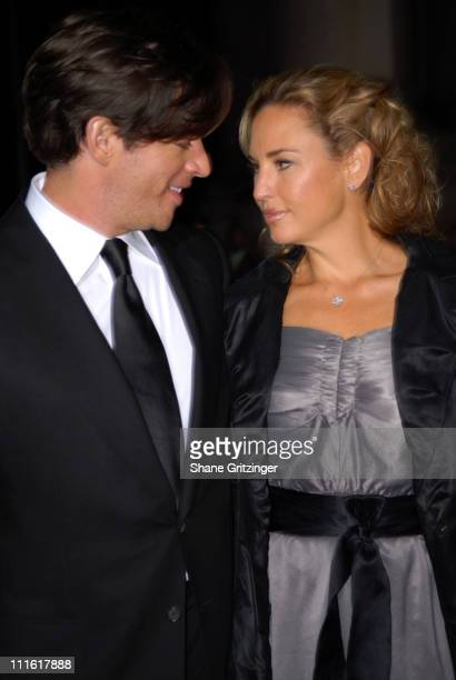 Harry Connick Jr and Jill Goodacre during The Second Annual Quill Awards Gala at The American Museum of Natural History in New York City New York...