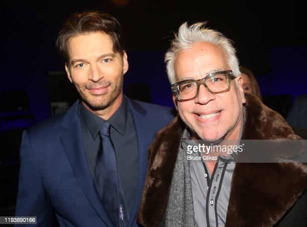 """Harry Connick Jr and Richard Jay-Alexander pose backstage after the opening night performance of """"Harry Connick Jr - A Celebration Of Cole Porter"""" on..."""