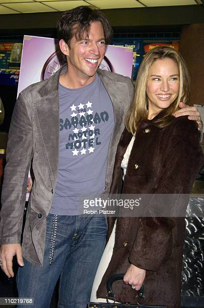 Harry Connick Jr and wife Jill Goodacre during Showtime's Fat Actress New York City Premiere Inside Arrivals at Clearview Chelsea West in New York...