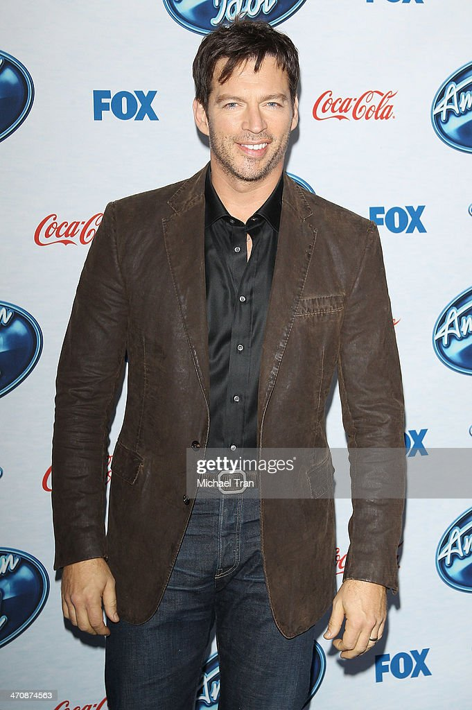 Harry Connick Jr. arrives at Fox's 'American Idol XIII' finalists party held at Fig & Olive Melrose Place on February 20, 2014 in West Hollywood, California.