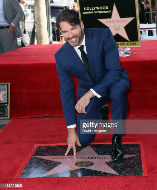 Harry Connick Jr. Attends his being honored with a Star on the Hollywood Walk of Fame on October 24, 2019 in Hollywood, California.