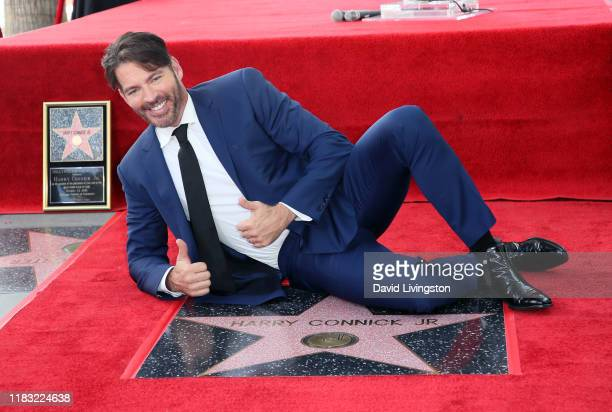 Harry Connick Jr attends his being honored with a Star on the Hollywood Walk of Fame on October 24 2019 in Hollywood California