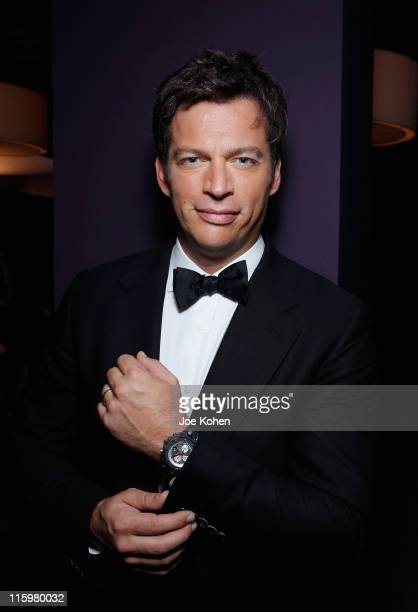 Harry Connick Jr attends the Audemars Piguet Green Room and Gift Suite during the 65th Annual Tony Awards at the Beacon Theatre on June 12 2011 in...