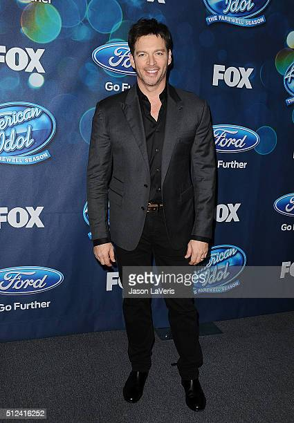 """Harry Connick, Jr. Attends the The """"American Idol XV"""" finalists event at The London Hotel on February 25, 2016 in West Hollywood, California."""