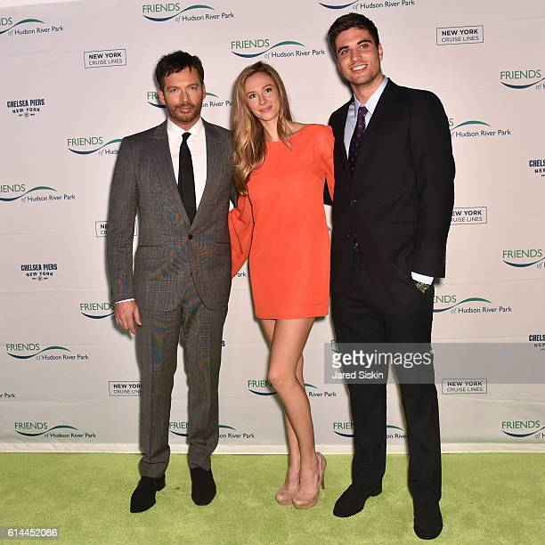 Harry Connick Jr Georgia Connick and guest attend the Friends of Hudson River Park Gala at Pier 60 on October 13 2016 in New York City