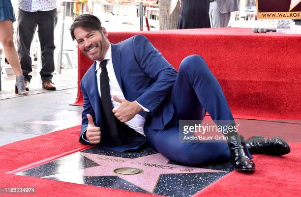 Harry Connick Jr. Is honored with star on the Hollywood Walk of Fame on October 24, 2019 in Hollywood, California.