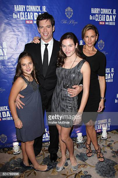 Harry Connick Jr Jill Goodacre and daughters Kate Connick and Charlotte Connick attending the Opening After Party for 'On A Clear Day You Can See...
