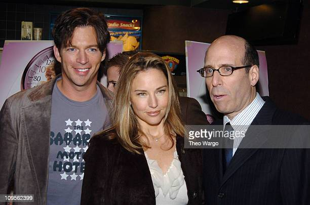 Harry Connick Jr Jill Goodacre and Matt Blank during Fat Actress Showtime Network's New York City Premiere Inside Arrivals at Clearview Chelsea West...