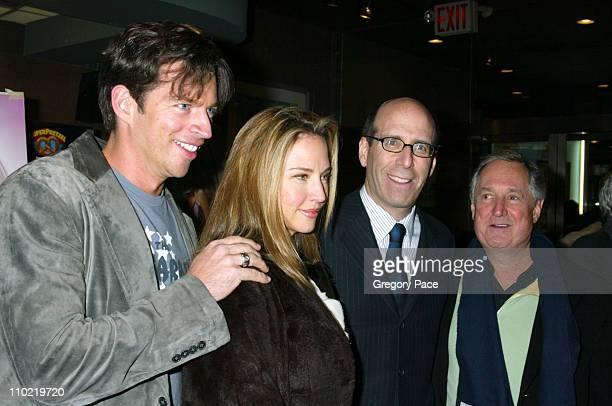 Harry Connick Jr Jill Goodacre Matt Blank CEO/chairman of Showtime and Neil Sedaka