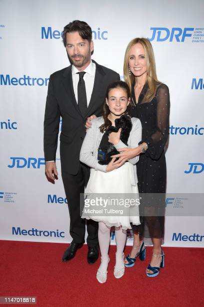Harry Connick Jr Juliet Sidoti and Dana Walden attend JDRF's annual Imagine Gala at The Beverly Hilton Hotel on May 04 2019 in Beverly Hills...