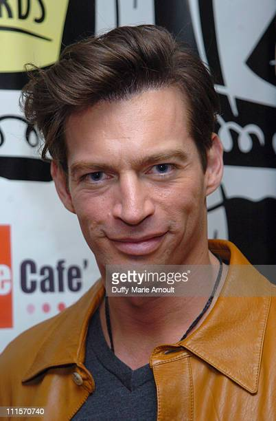 Harry Connick Jr of The Pajama Game during 2006 Drama Desk Award Nominations at Arte Cafe in New York City New York United States