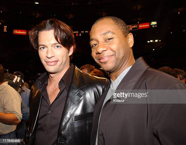Harry Connick Jr performed America The Beautiful with musical accompaniment from Branford Marsalis