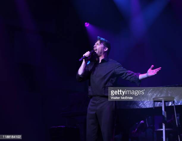 """Harry Connick Jr. Performs during the opening night of """"Harry Connick Jr. - A Celebration Of Cole Porter"""" on Broadway at Nederlander Theatre on..."""
