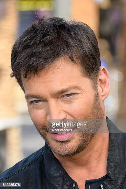 Harry Connick Jr visits Extra at Universal Studios Hollywood on October 31 2016 in Universal City California
