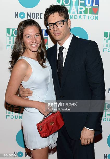 Harry Connick Jr with his daughter attends the 2013 Joyful Heart Foundation Gala at Cipriani 42nd Street on May 9 2013 in New York City