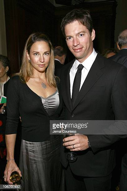 Harry Connick Jr with wife Jill Goodacre during WNET Channel 13 and WLIW Channel 21 Gala Salute with Harry Connick Jr at Gotham Hall in New York City...