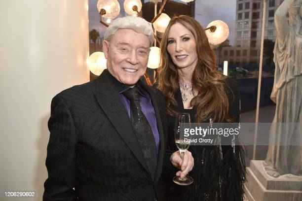Harry Cooper and Valerie Cooper attend Of Love And Rage Premiere Dinner Hosted By Elizabeth Segerstrom at Leatherby's Cafe Rouge on March 7 2020 in...